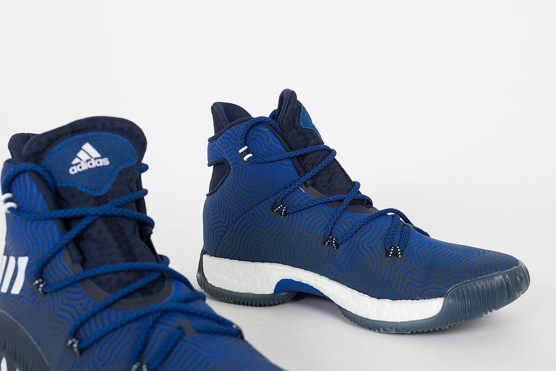 Adidas Crazy Explosive Boost Blue White3