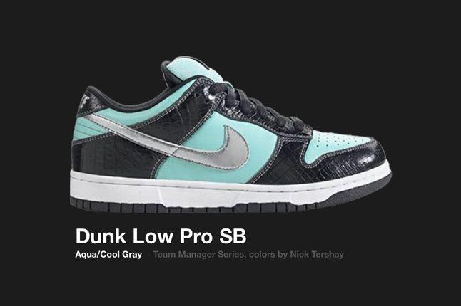 Nike Dunk Low Sb Tiffany 2005 1