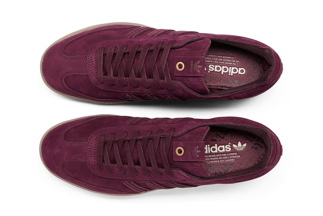 Adidas Consortium Womens Samba Deep Hue Pack Purple 1