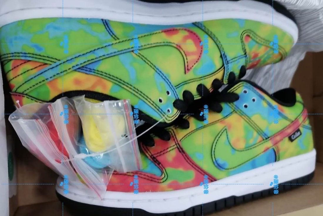"""Nike SB Dunk Low """"Thermography"""""""