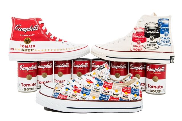 Andy Warhol Converse Collection Bump 1