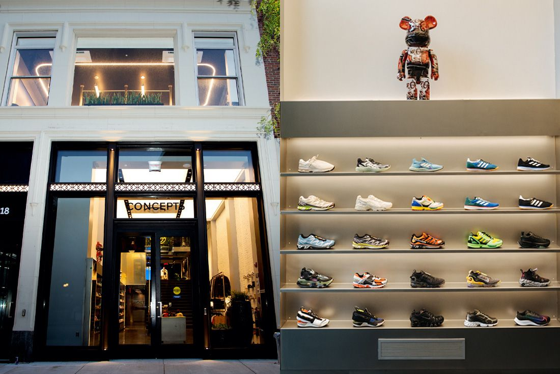 Concepts Boston 18 Newbury Street