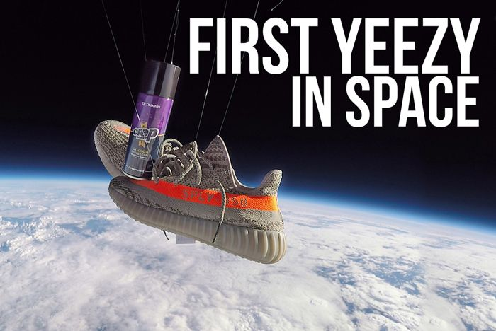 Crep Protect Launch The First Yeezy Into Space