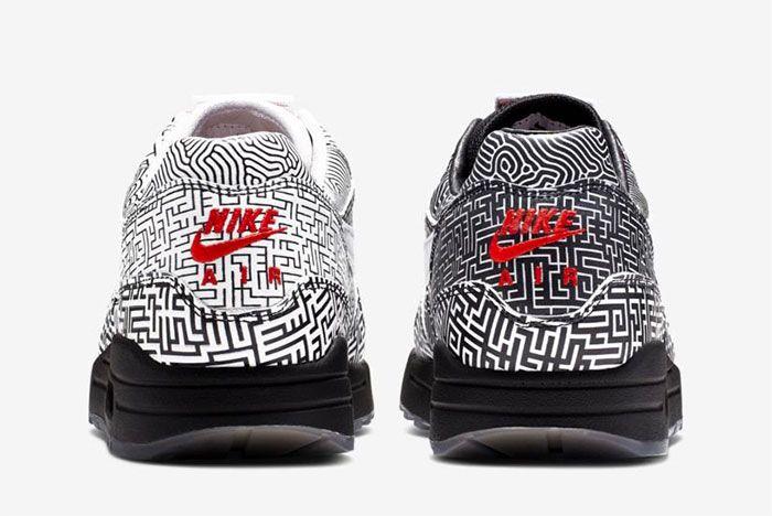Nike Air Max 1 Tokyo Maze Release Info Heel