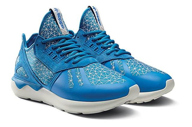Adidas Originals Tubular Geomatric Pattern Pack Bluebird 3