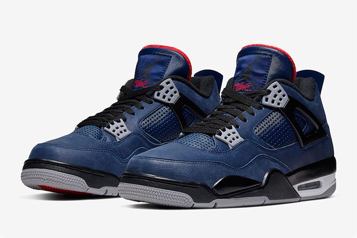 Air Jordan 4 Wntr Winter Loyal Bluequarter