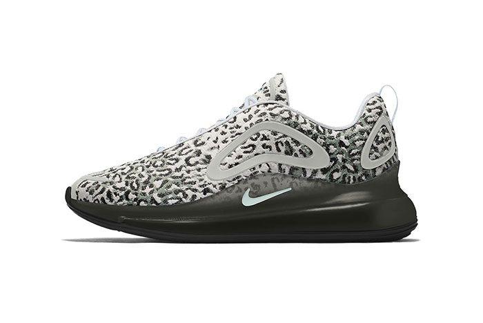 Maharishi Nike Air Max 720 By You Leopard Camo Bq7699 991 Grey