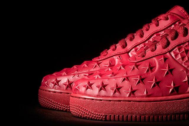 Nike Af1 Lv8 Vt Red Wish Bump 5