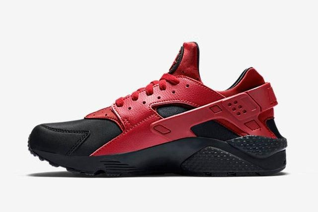 Nike Huarache Gym Red Black 3