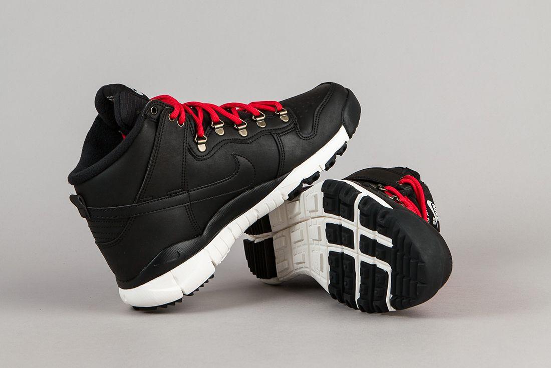 Nike Sb Dunk High Boots Black Sail 3
