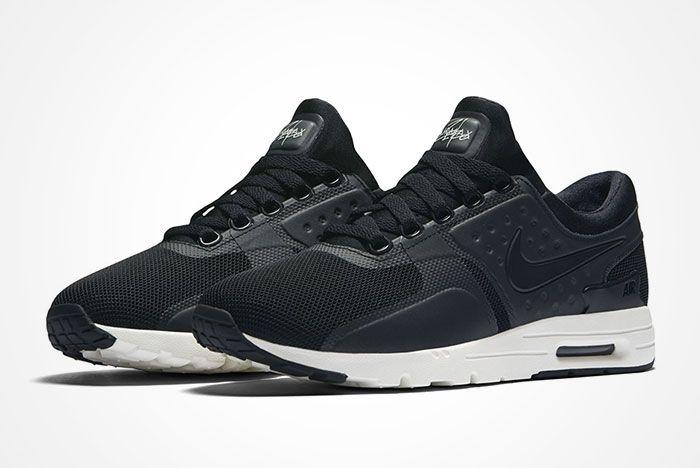 Nike Air Max Zero Blackwhite Feature