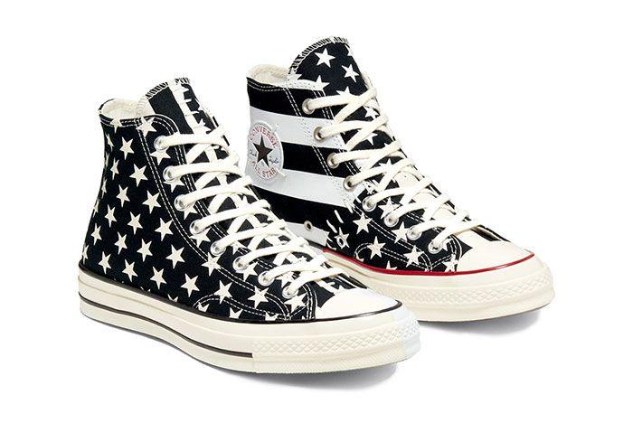 Converse Chuck Taylor All Star 70 Stars And Stripes Black Quarter
