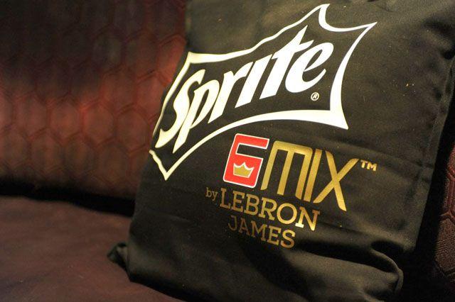 Lebron Sprite 6 Mix Launch Recap Pillow