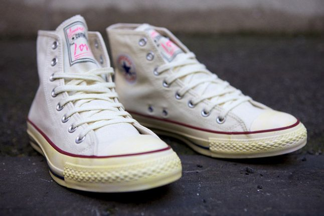 Converse Andre Saraiva Monsieur A Pink Chuck Taylor Pair Front 1