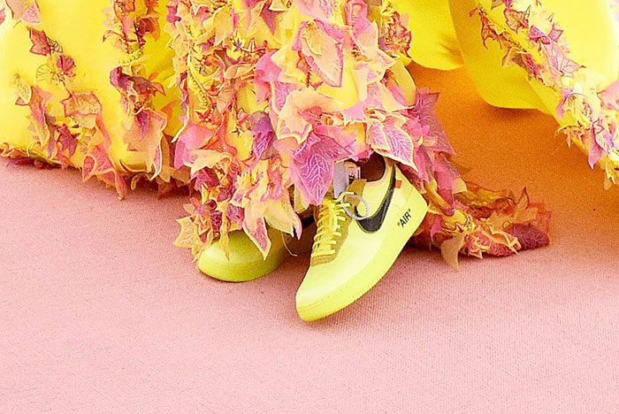 Serena Williams Sneakers Met Gala 2019 Camp 1On Foot