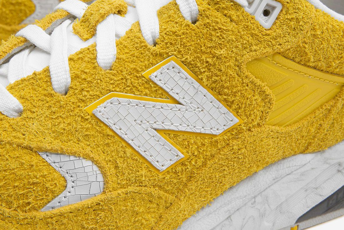 Randomevent X New Balance 580 Yellow 6 Up Close