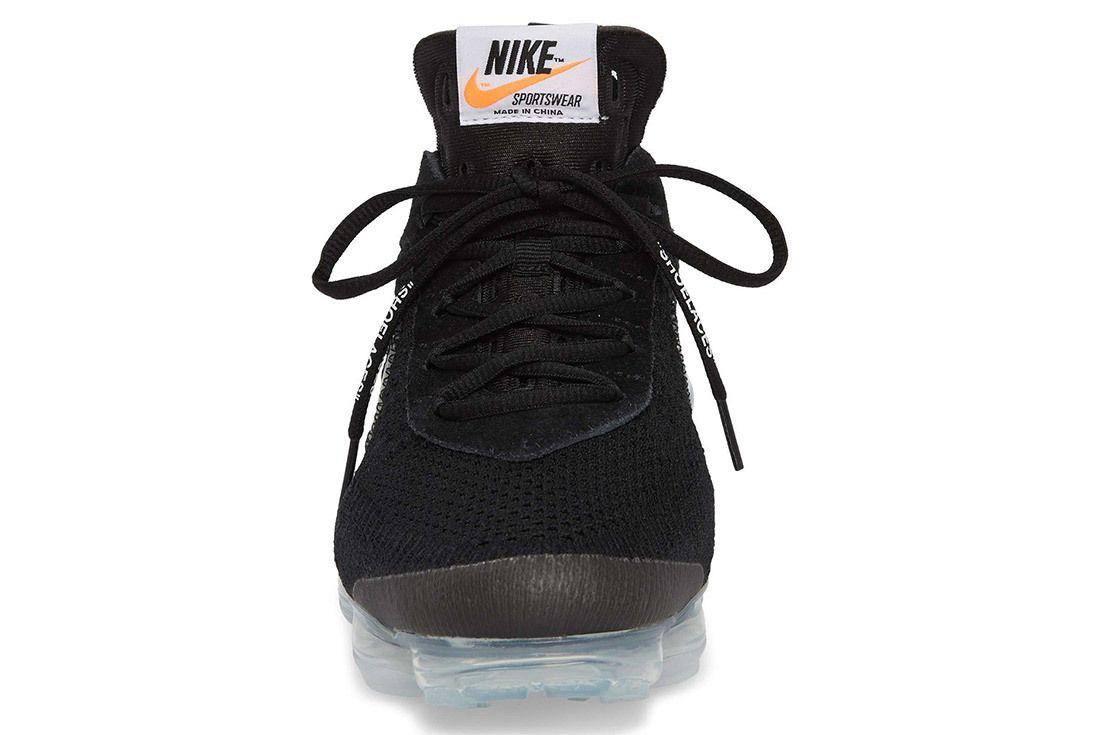 Off White Nike Vapormax Flyknit Black Release Details 3