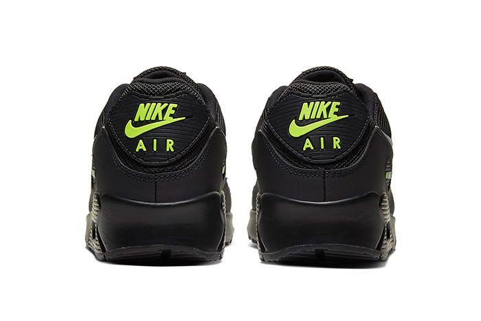 Nike Air Max 90 Volt Heel