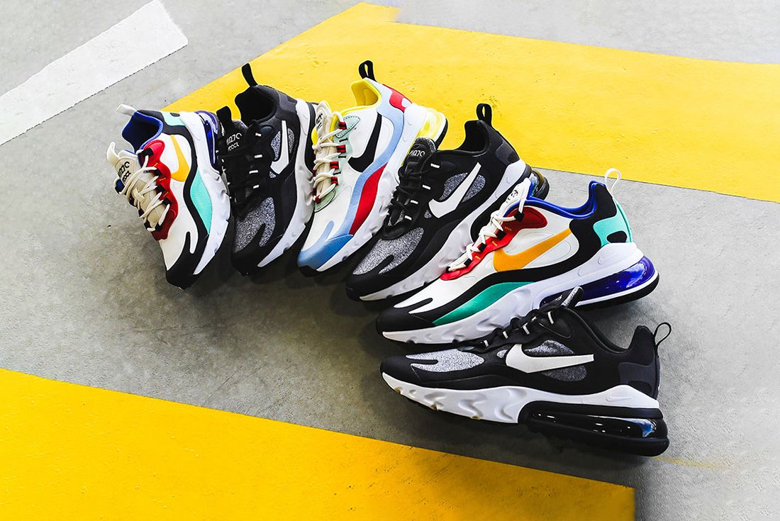 Nike Air Max 270 React Jd Sports Australia Pack6 Group