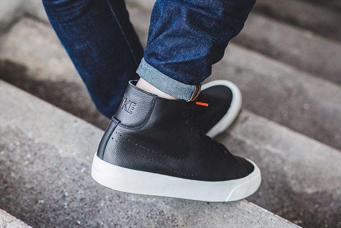 Nike Blazer Studio Mid Black 1