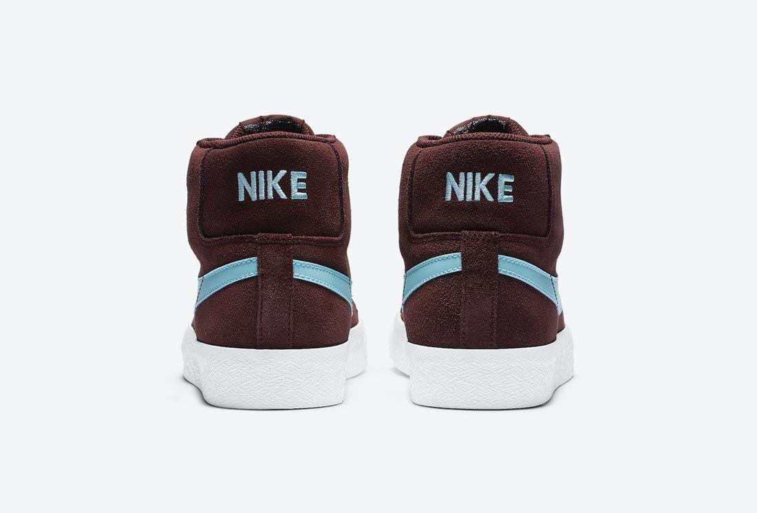 Nike SB Blazer Mid Mystic Dates/Glacier Ice
