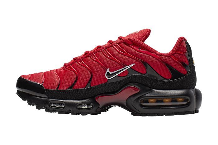 Nike Air Max Plus University Red Medial