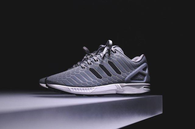 Adidas Zx Flux Xeno Silver 3
