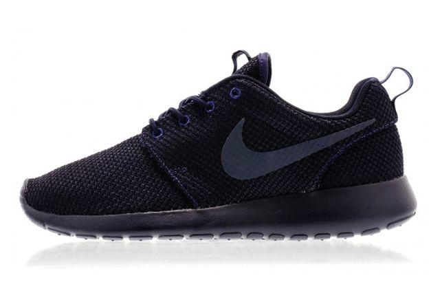 Nike Roshe Run Navy Dark Obsidian 2