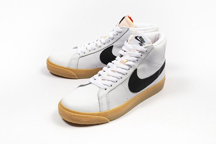 Nike Sb Zoom Blazer Mid Cd2569 100 5Pair Angle