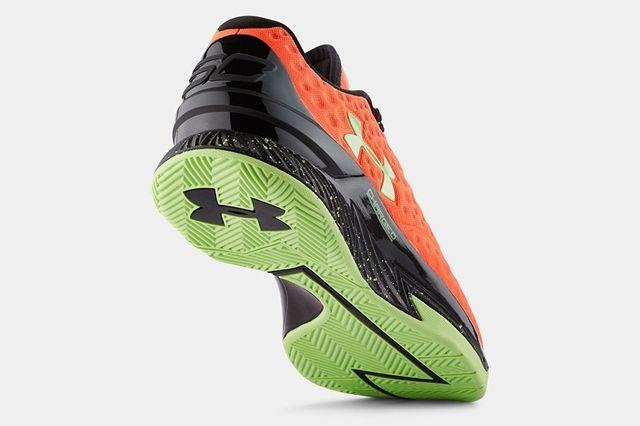 Ua Curry One Low Bolt Orange Avex Green 4