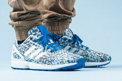 Adidas Zx Flux Weave Ocean Blue Thumb