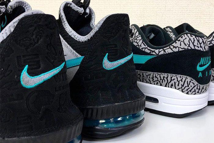 Atmos Nike Lebron 16 Elephant