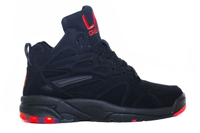 Tyga La Gear Black Nubuck 1
