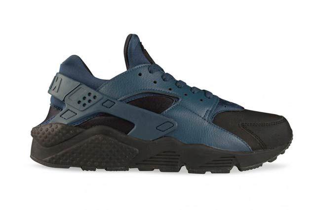 Nike Air Huarache Prem Blksquadron Blue