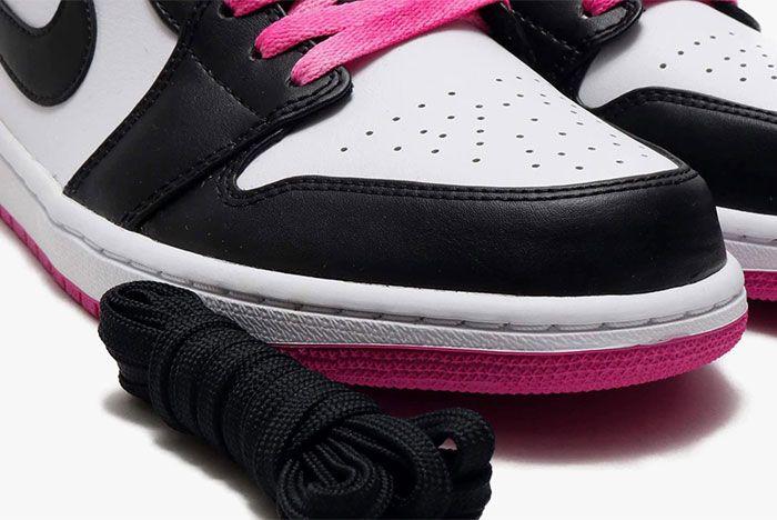 Air Jordan 1 Low Active Fuchsia Toe