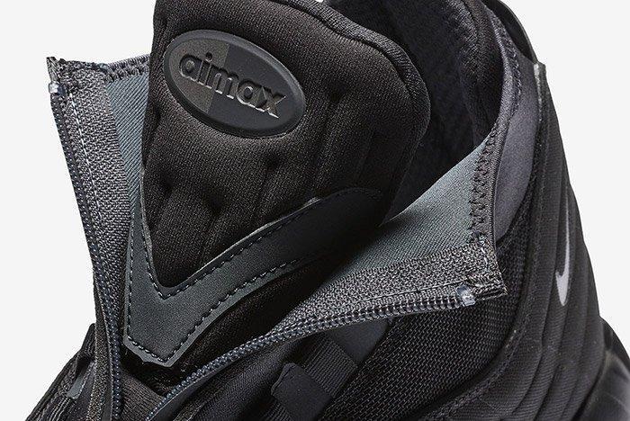 Nike Air Max 95 Sneaker Boot Triple Black 2