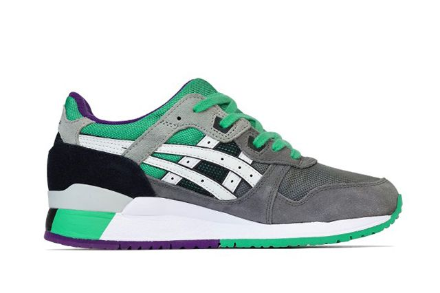 Asics Gel Lyte Iii Green Purple 31