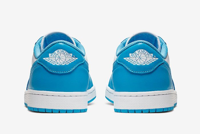 Nike Sb Air Jordan 1 Low Unc Cj7891 401 Heels