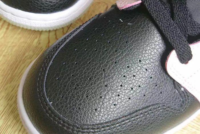 Air Jordan 1 Mid Glow In The Dark Av5174 076 Release Date 3 Close Up Toe