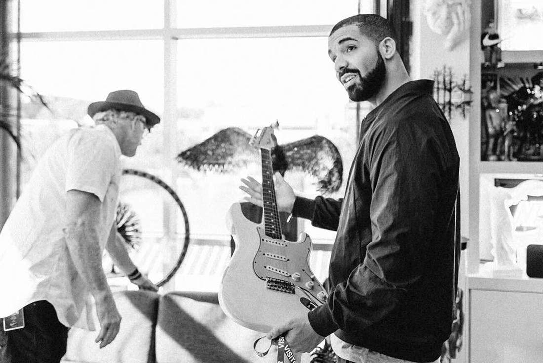 Drake Meets Nike Execs 2
