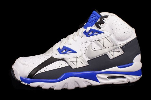 Nike Air Trainer Sc High Metallic Platinum Cobalt Blue 3