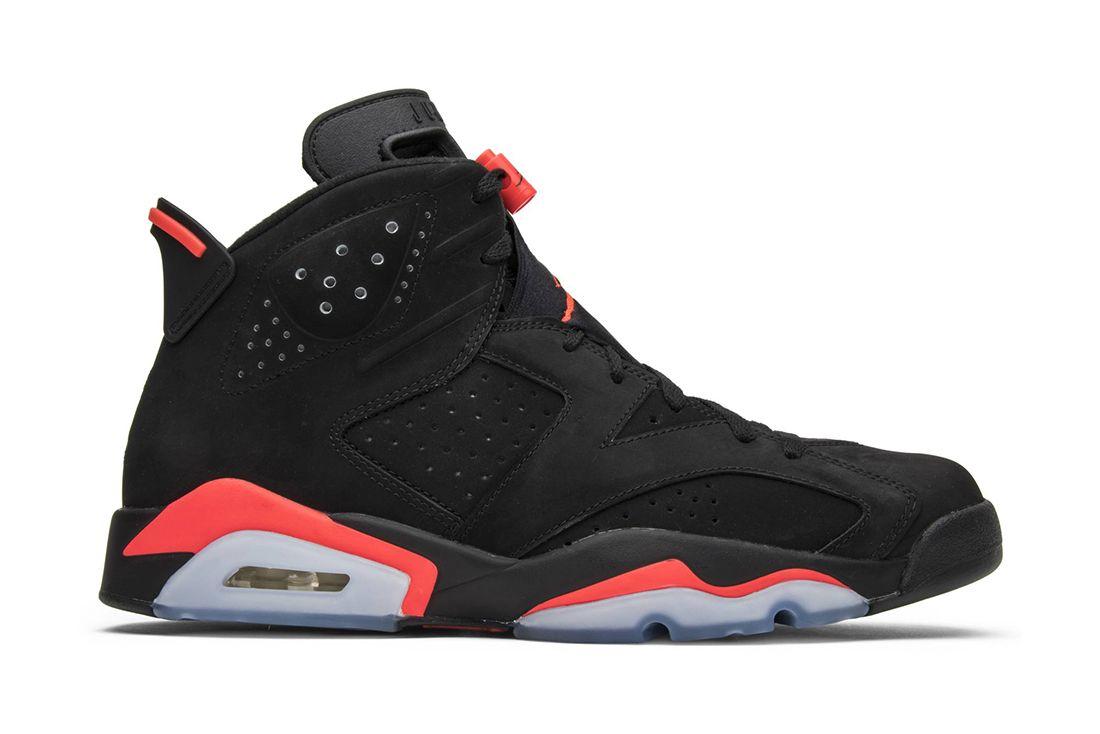 Air Jordan 6 Black Infrared 2014 384664 023 Lateral