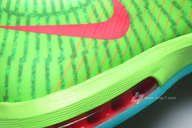 Nike Kd Vi Supreme Dc Heat Pack Heel Detail 1