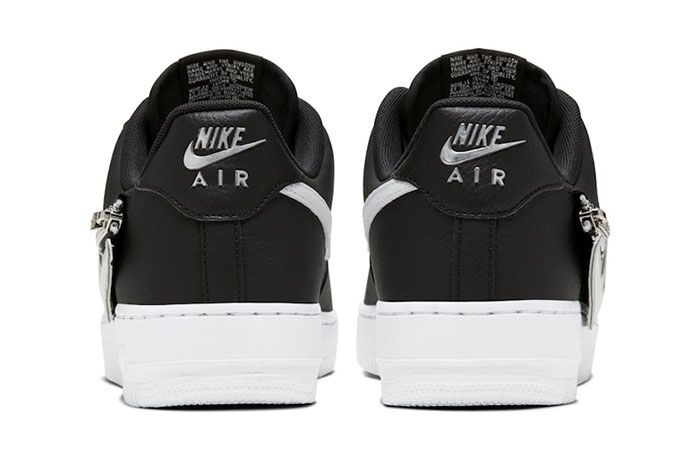 Nike Air Force 1 Zip On Swoosh Logo Release Date 4 Official