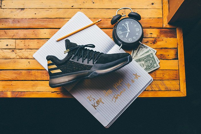 Adidas Harden Vol 1 Imma Be A Star Black Gold 4