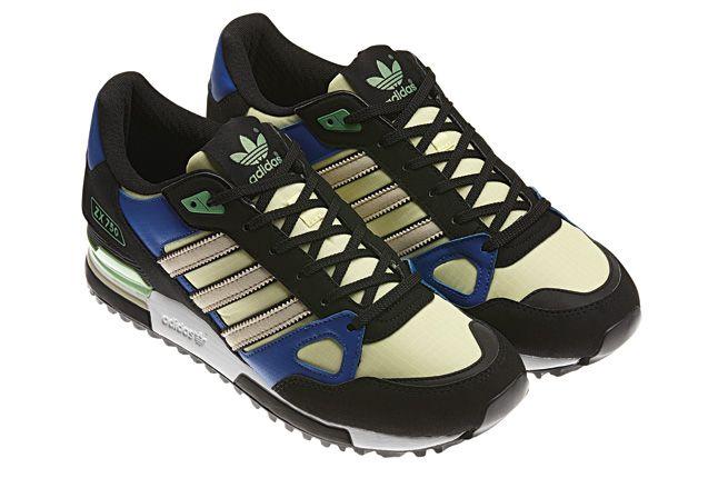 Adidas Blue Zx750 Quater 1