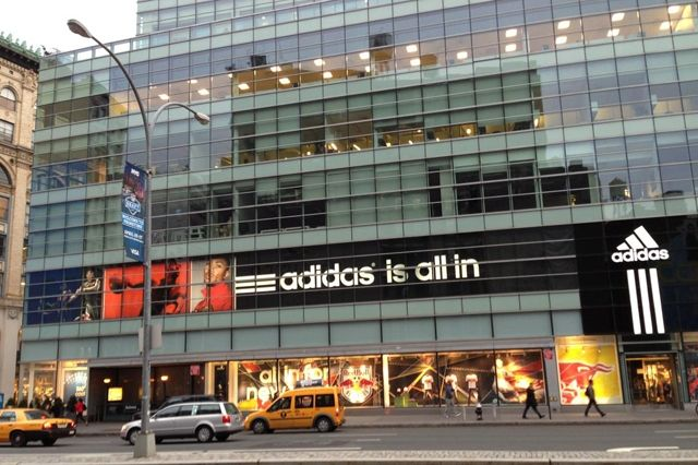 Adidas New York City Store Broadway