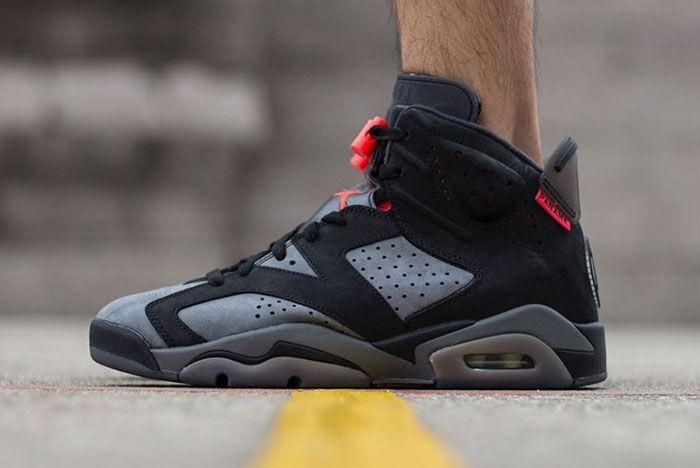 Psg X Air Jordan 6 On Foot 4