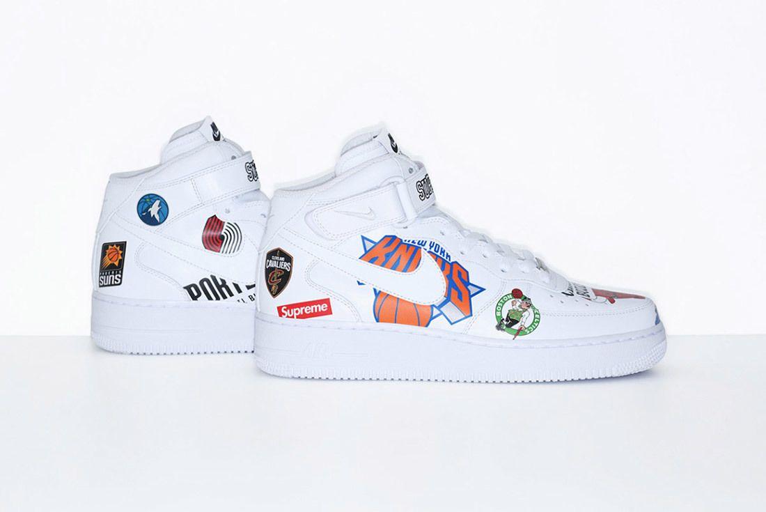 Supreme Nike Nba Air Force 1 High Sneaker Freaker 1