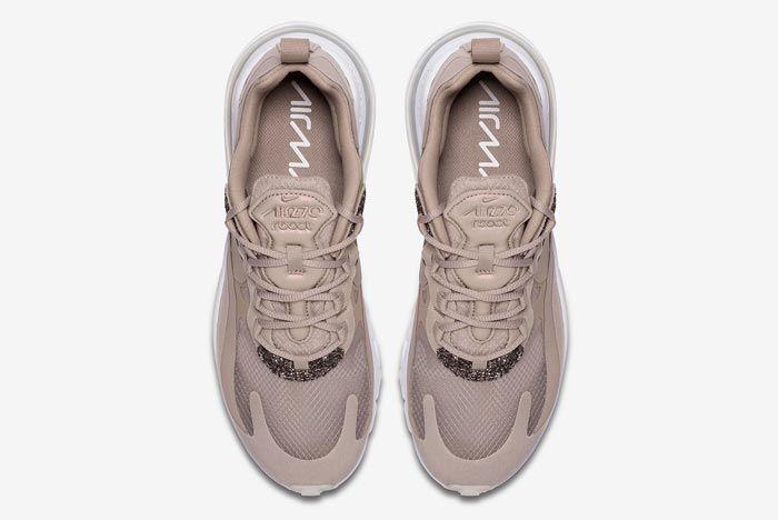 Nike Air Max 270 React Beige White Top